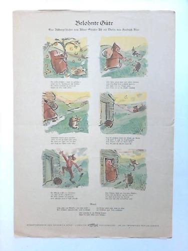Belohnte Güte. Eine Bildergeschichte von Albert Schäfer-Ast mit Versen von Friedrich Böer