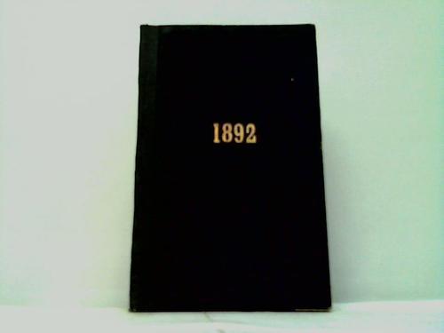 Hamburger illustrirter Almanach auf das Schaltjahr 1892 nebst Anhang