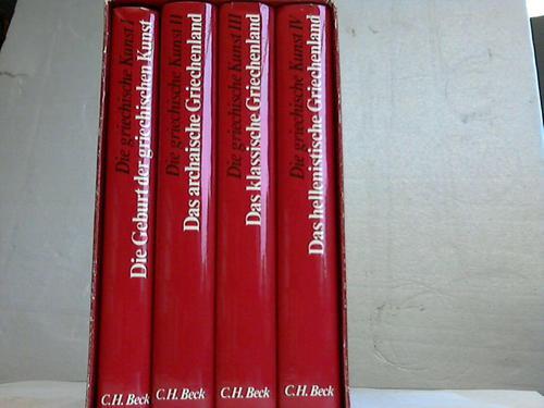 Die griechische Kunst. 4 Bände