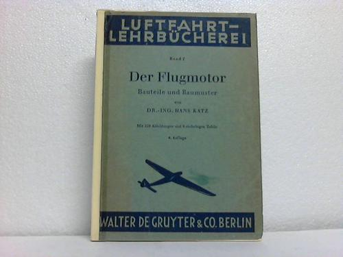 Der Flugmotor. Bauteile und Muster
