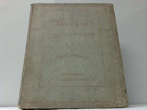 Für Natur, Kunst, Wissenschaft und Leben 1843. 11. Band, Nummer 1-12