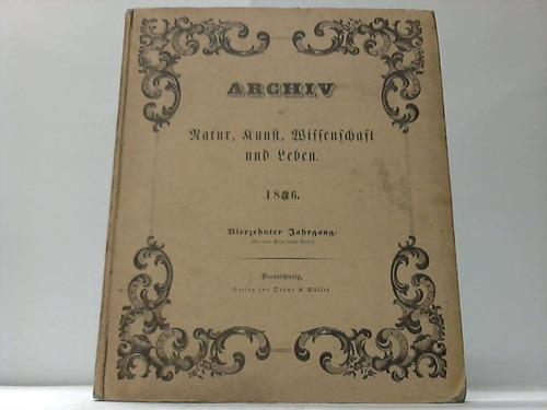 Für Natur, Kunst, Wissenschaft und Leben 1836. Lieferung 1-12