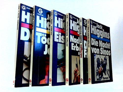 6 verschiedene Bücher