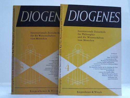 Internationale Zeitschrift für Philosophie und die Wissenschaften vom Menschen. Heft 4, 7 u. 8. 3 Hefte in 2 Bänden