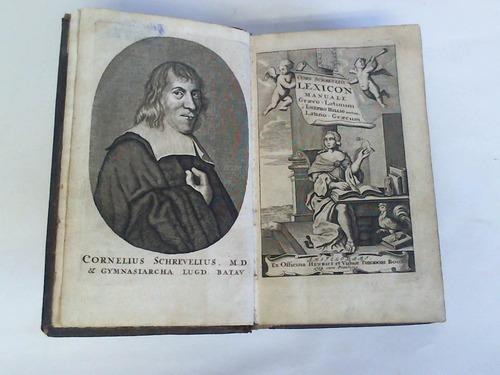 Lexicon manuale Graeco - Latinum a Iosepho Hillio arictum Latino - Graecum