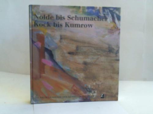 Nolde bis Schumacher. Kock bis Kumrow. 50 Jahre Freie Akademie der Künste in Hamburg