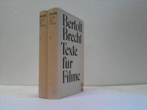 Texte für Filme. 2 Bände