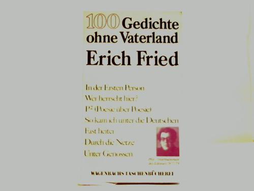 100 Gedichte ohne Vaterland