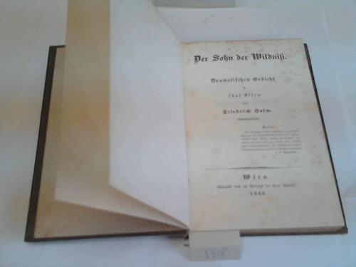 Der Sohn der Wildnis. Dramatisches Gedicht in fünf Akten