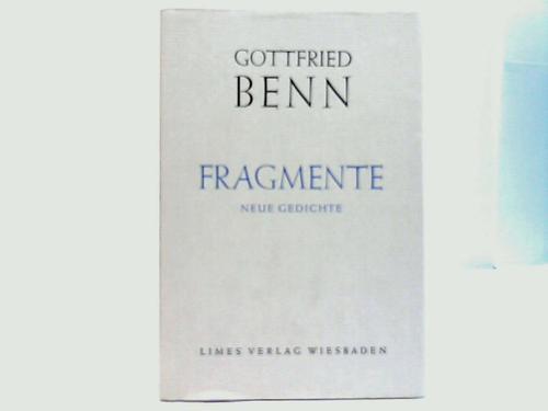Fragmente. Neue Gedichte
