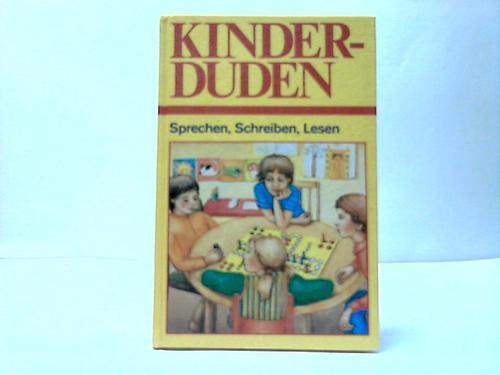 Kinderduden. Sprechen, Schreiben, Lesen
