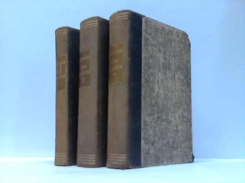 Leben und Taten des scharfsinnignen edlen Don Quixotte von la Mancha. 3 Bände