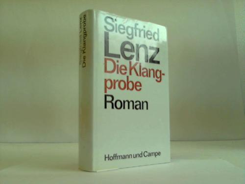 Die Klangprobe. Roman