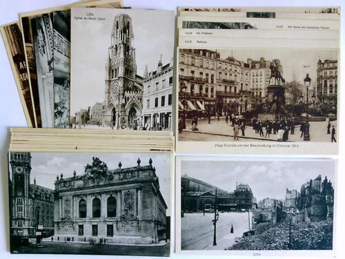 25 Postkarten/Feldpostkarten