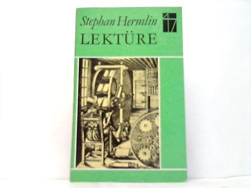 Lektüre 1960-1971