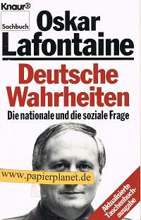 Deutsche Wahrheiten .Die nationale und die soziale Frage . 3426048493
