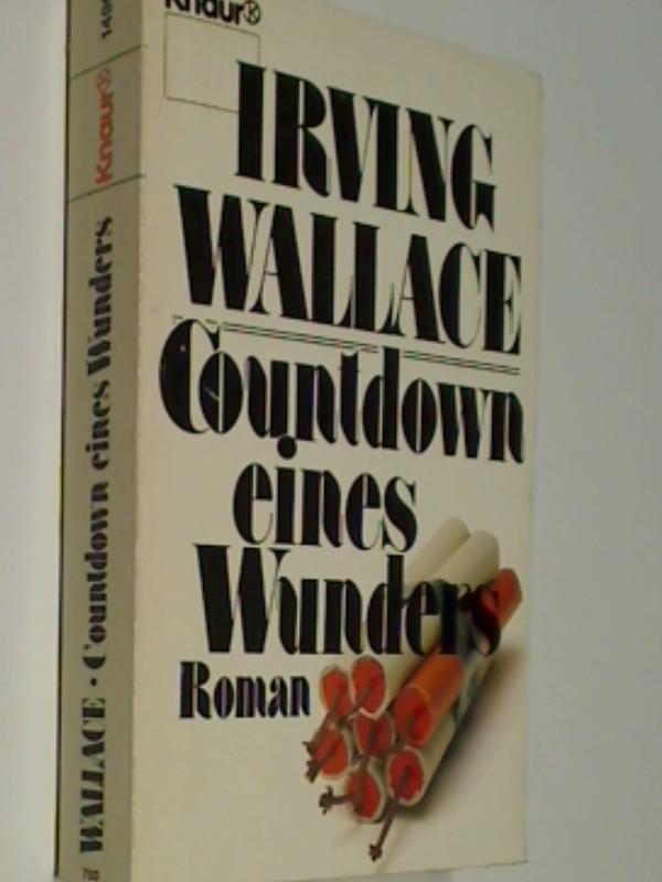 Countdown eines Wunders. Roman Thriller, 3426014904