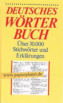 Deutsches Wörterbuch. Über 30000 Stichwörter und Erklärungen (3807500243)