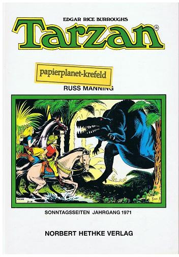 Tarzan Sonntagsseiten Jahrgang 1971. Hethke Comic ; 3892074518