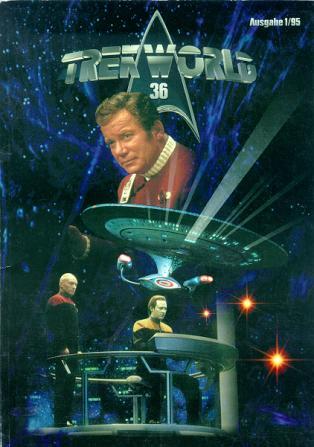 Trek World 36,  Ausgabe 1/95 Das SCI-FI & Trekkie Fachmagazin (Star Trek)