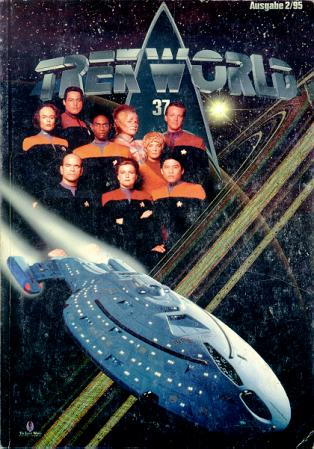 Trek World 37,  Ausgabe 2/95 Das SCI-FI & Trekkie Fachmagazin (Star Trek)