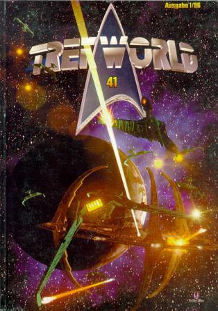 Trek World 41,  Ausgabe 1/96 Das SCI-FI & Trekkie Fachmagazin (Star Trek)