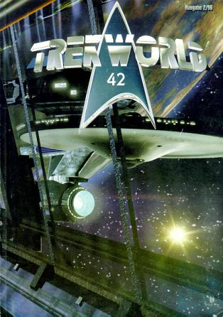 Trek World 42,  Ausgabe 2/96 Das SCI-FI & Trekkie Fachmagazin (Star Trek)