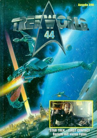 Trek World 44,  Ausgabe 3/96 Das SCI-FI & Trekkie Fachmagazin (Star Trek)