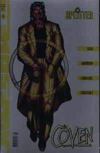 The Coven 3 , Buchhandelsausgabe mit Chromcover, 1998, Awesome Splitter Comic-Heft