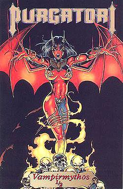 Pulido, Brian, Jim Balent Jason JENSEN u. a.: Purgatori Kiosk 1/2 Goldedition, Vampirmythos Variant-Cover, Chaos ! Comics,  Comic-Hef DEV