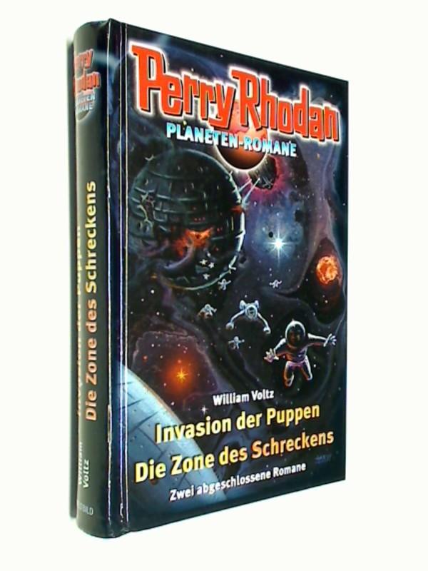 Perry Rhoden Planeten-Romane: Invasion der Puppen, Die Zone des Schreckens. Weltbild Sammler Editionen
