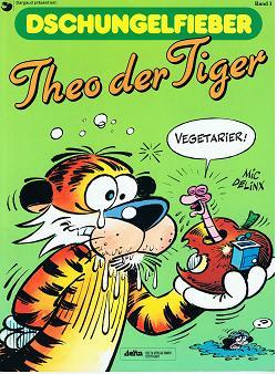 Dschungelfieber Bd. 1, Theo der Tiger