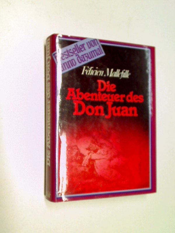 Die Abenteuer des Don Juan . Roman