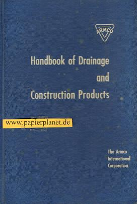 Handbook of Drainage and Construction Products . (Englisch)