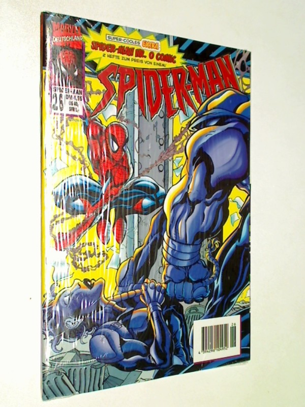 Spider-Man 26 ...Black Tarantula,1999,Panini Marvel Comic-Heft, Extra-Heft Spiderman Nr. 0