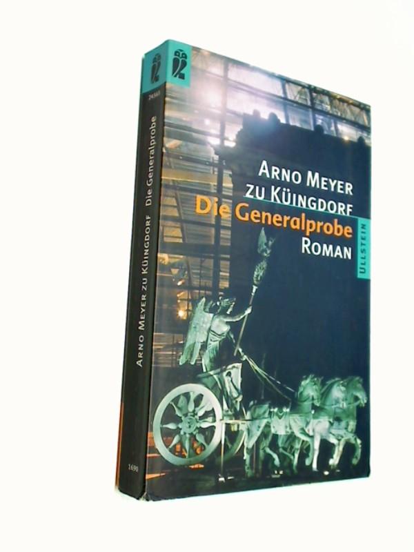 Die  Generalprobe : Roman. Ullstein-Buch 24565. Orig.-Ausg.