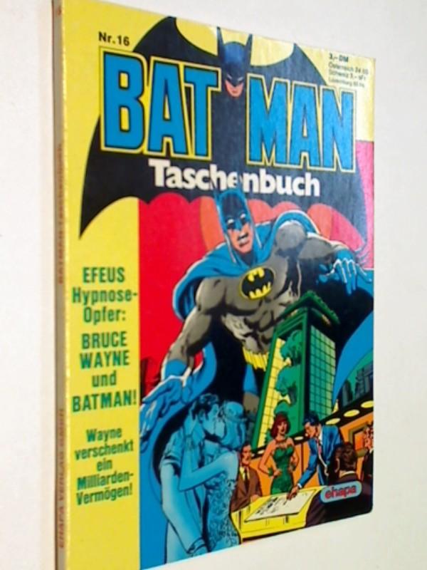 Batman Taschenbuch 16, Ehapa DC Comic,