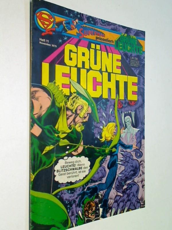 Grüne Leuchte 1979 Heft 11 , = Green Lantern, Ehapa DC Comic-Heft , ERSTAUSGABE