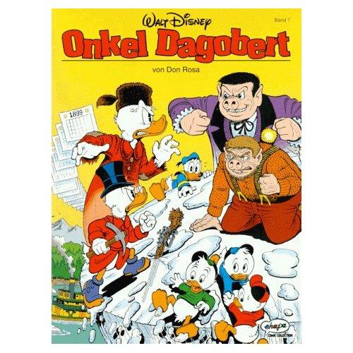 Disney: Don Rosa Onkel Dagobert 7, Der letzte Schlitten nach Dawson. ( Ehapa Comic )