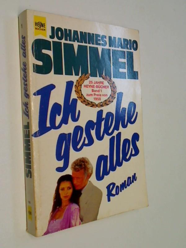 Ich gestehe alles : Roman. Heyne-Bücher : Allg. Reihe Nr. 1.