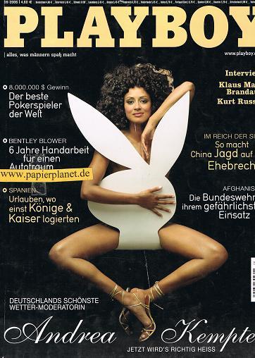 Playboy 2006, Nr. 08, 34. Jahrgang Alles was Männern Spass macht.