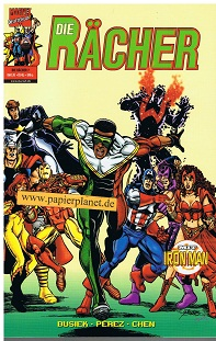 Die Rächer 2. Serie Nr. 7 Turbulenzen ! Mit Iron-Man , 14.9.2000,  = Avengers, Panini Marvel Comics