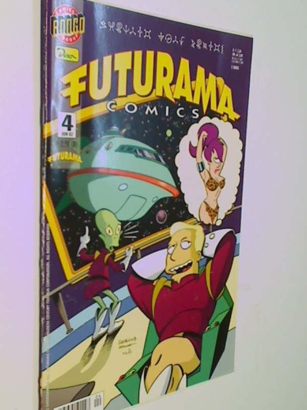 Futurama Comics 4, ERSTAUSGABE Juni 2002, Dino Bongo Comic-Heft