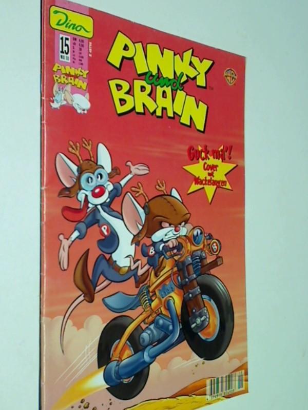 Carzon, Walter und Mike De Carlo: Pinky und Brain 15,  Dino Comic-Heft, ERSTAUSGABE