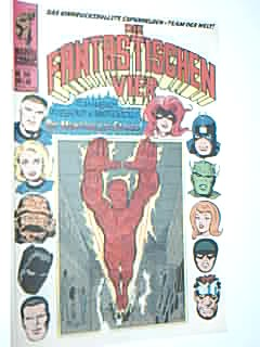Die Fantastischen Vier 50, mit Black Panther = Black Panther), Dämon = Daredevil, Inhumans , Fantastic Four Williams Marvel Comic-Heft