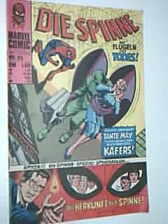 Die Spinne 95,  mit Thor, Spider-Man , Williams Marvel Comic-Heft