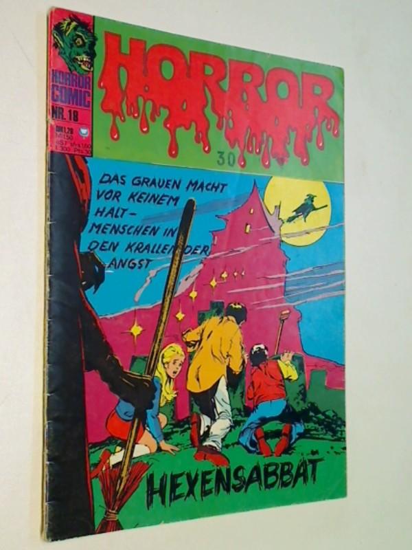 Horror 18  Hexensabbat, Williams BSV DC Comic-Heft, ERSTAUSGABE 1974