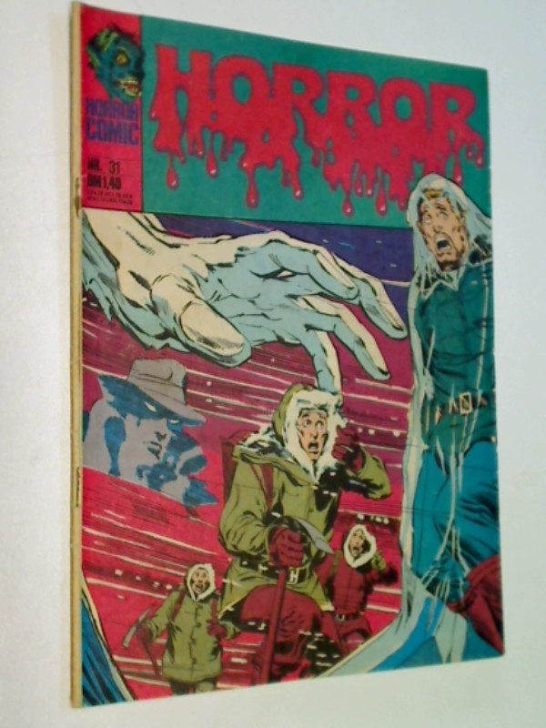 Horror 31, mit Phantom Stranger,    Williams BSV DC Comic-Heft, ERSTAUSGABE 1975