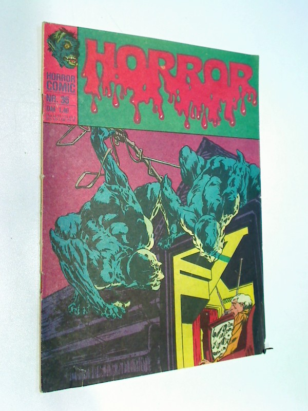 Horror 35 Der Fluch von Harappa, Williams BSV DC Comic-Heft, ERSTAUSGABE 1975