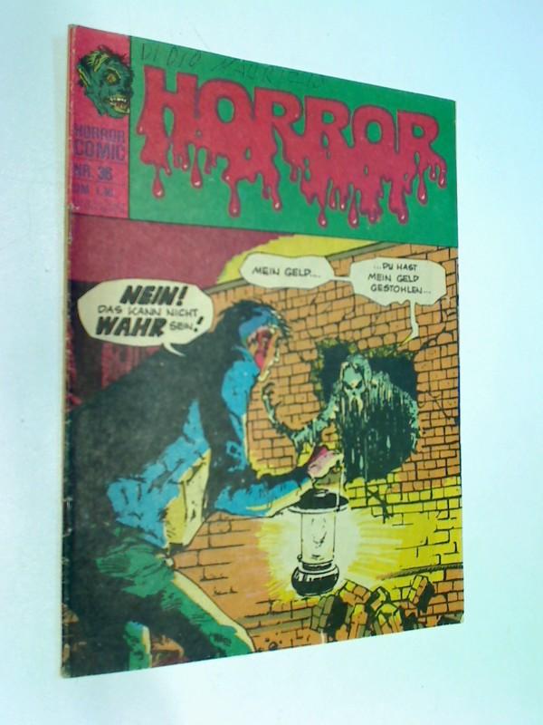 """Horror 36  Die 2 Ichs der """"Bestie"""" Bracken! , Williams BSV DC Comic-Heft, ERSTAUSGABE 1975"""